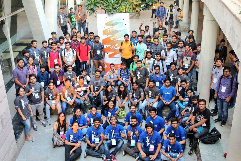 PyData Delhi 2017 group photo